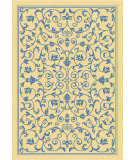 RugStudio presents Safavieh Courtyard Cy2098-3101 Natural / Blue Machine Woven, Good Quality Area Rug