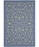 RugStudio presents Safavieh Courtyard Cy2098-3103 Blue / Natural Machine Woven, Good Quality Area Rug