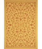 RugStudio presents Safavieh Courtyard Cy2098-3201 Natural / Terracotta Machine Woven, Good Quality Area Rug