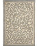 RugStudio presents Safavieh Courtyard Cy2098-3606 Grey / Natural Machine Woven, Good Quality Area Rug