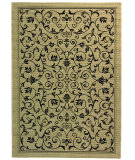 RugStudio presents Safavieh Courtyard Cy2098-3901 Sand / Black Machine Woven, Good Quality Area Rug