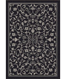 RugStudio presents Safavieh Courtyard Cy2098-3908 Black / Sand Machine Woven, Good Quality Area Rug