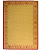 RugStudio presents Safavieh Courtyard Cy2099-3701 Beige / Red Machine Woven, Good Quality Area Rug
