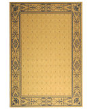 RugStudio presents Safavieh Courtyard Cy2326-3101 Natural / Blue Machine Woven, Good Quality Area Rug