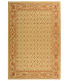 RugStudio presents Safavieh Courtyard Cy2326-3201 Natural / Terra Machine Woven, Good Quality Area Rug