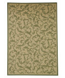 RugStudio presents Safavieh Courtyard Cy2653-1e01 Natural / Olive Machine Woven, Good Quality Area Rug