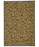RugStudio presents Safavieh Courtyard Cy2653-3001 Natural / Brown Machine Woven, Good Quality Area Rug