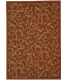 RugStudio presents Safavieh Courtyard Cy2653-3202 Terracotta / Natural Machine Woven, Good Quality Area Rug