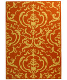 RugStudio presents Safavieh Courtyard Cy2663-3202 Terracotta / Natural Machine Woven, Good Quality Area Rug