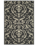 RugStudio presents Safavieh Courtyard Cy2663-3908 Sand / Black Machine Woven, Good Quality Area Rug