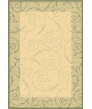RugStudio presents Safavieh Courtyard Cy2665-1e01 Natural / Olive Machine Woven, Good Quality Area Rug