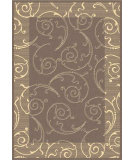 RugStudio presents Safavieh Courtyard Cy2665-3009 Brown / Natural Machine Woven, Good Quality Area Rug