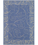 RugStudio presents Safavieh Courtyard Cy2665-3103 Blue / Natural Machine Woven, Good Quality Area Rug