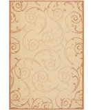 RugStudio presents Safavieh Courtyard Cy2665-3201 Natural / Terracotta Machine Woven, Good Quality Area Rug