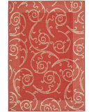 RugStudio presents Safavieh Courtyard Cy2665-3707 Red / Natural Machine Woven, Good Quality Area Rug