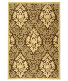 RugStudio presents Safavieh Courtyard Cy2714-3009 Brown / Natural Machine Woven, Good Quality Area Rug