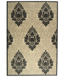 RugStudio presents Safavieh Courtyard Cy2714-3901 Sand / Black Machine Woven, Good Quality Area Rug