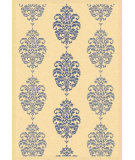 RugStudio presents Safavieh Courtyard Cy2720-3101 Natural / Blue Machine Woven, Good Quality Area Rug