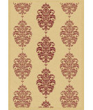 RugStudio presents Safavieh Courtyard Cy2720-3701 Natural / Red Machine Woven, Good Quality Area Rug