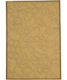 RugStudio presents Safavieh Courtyard Cy2726-3001 Natural / Brown Machine Woven, Good Quality Area Rug