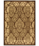 RugStudio presents Safavieh Courtyard Cy2727-3009 Brown / Natural Machine Woven, Good Quality Area Rug