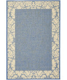 RugStudio presents Safavieh Courtyard Cy2727-3103 Blue / Natural Machine Woven, Good Quality Area Rug