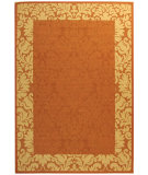 RugStudio presents Safavieh Courtyard Cy2727-3202 Terracotta / Natural Machine Woven, Good Quality Area Rug