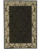 RugStudio presents Safavieh Courtyard Cy2727-3908 Black / Sand Machine Woven, Good Quality Area Rug