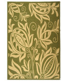 RugStudio presents Safavieh Courtyard Cy2961-1e06 Olive / Natural Machine Woven, Good Quality Area Rug