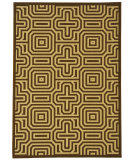 RugStudio presents Safavieh Courtyard Cy2962-3409 Chocolate / Natural Machine Woven, Good Quality Area Rug