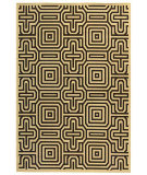 RugStudio presents Safavieh Courtyard Cy2962-3901 Sand / Black Machine Woven, Good Quality Area Rug