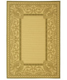 RugStudio presents Safavieh Courtyard Cy2965-1e01 Natural / Olive Machine Woven, Good Quality Area Rug