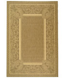 RugStudio presents Safavieh Courtyard Cy2965-3009 Brown / Natural Machine Woven, Good Quality Area Rug