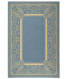 RugStudio presents Safavieh Courtyard Cy2965-3103 Blue / Natural Machine Woven, Good Quality Area Rug