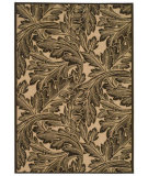 RugStudio presents Safavieh Courtyard Cy2996-3401 Natural / Chocolate Machine Woven, Good Quality Area Rug