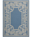 RugStudio presents Safavieh Courtyard Cy3305-3103 Blue / Natural Machine Woven, Good Quality Area Rug