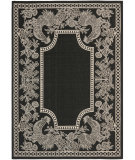 RugStudio presents Safavieh Courtyard Cy3305-3908 Black / Sand Machine Woven, Good Quality Area Rug