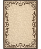 RugStudio presents Safavieh Courtyard Cy3394-3401 Natural / Olive Machine Woven, Good Quality Area Rug