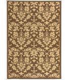 RugStudio presents Safavieh Courtyard Cy3416-3409 Chocolate / Natural Machine Woven, Good Quality Area Rug