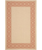 RugStudio presents Safavieh Courtyard Cy6003-11 Cream / Terracotta Machine Woven, Good Quality Area Rug