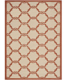 RugStudio presents Safavieh Courtyard Cy6009-231 Beige / Terracotta Machine Woven, Good Quality Area Rug