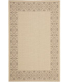 RugStudio presents Safavieh Courtyard Cy6011-219 Cream / Light Chocolate Machine Woven, Good Quality Area Rug
