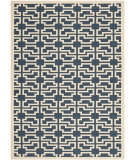 RugStudio presents Safavieh Courtyard CY6015-268 Navy / Beige Area Rug