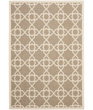 RugStudio presents Safavieh Courtyard Cy6032-242 Brown / Beige Machine Woven, Good Quality Area Rug