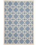 RugStudio presents Safavieh Courtyard Cy6032-243 Blue / Beige Machine Woven, Good Quality Area Rug