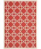 RugStudio presents Safavieh Courtyard Cy6032-248 Red / Beige Machine Woven, Good Quality Area Rug