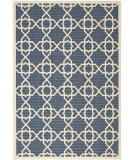 RugStudio presents Safavieh Courtyard Cy6032-268 Navy / Beige Machine Woven, Good Quality Area Rug