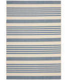 RugStudio presents Safavieh Courtyard Cy6062-233 Beige / Blue Machine Woven, Good Quality Area Rug