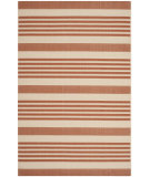 RugStudio presents Safavieh Courtyard Cy6062-241 Terracotta / Beige Machine Woven, Good Quality Area Rug