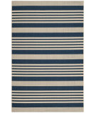 RugStudio presents Safavieh Courtyard Cy6062-268 Navy / Beige Machine Woven, Good Quality Area Rug